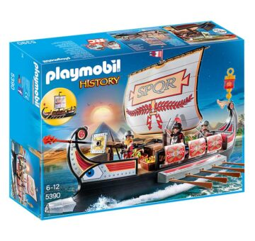 Playmobil Roman Warriors' Ship 5390