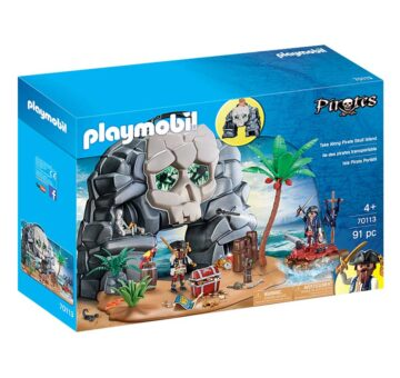 Playmobil Take Along Pirate Skull Island 70113