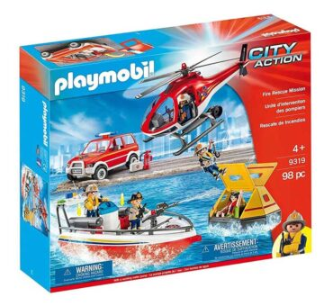 Playmobil Fire Rescue Mission 9319