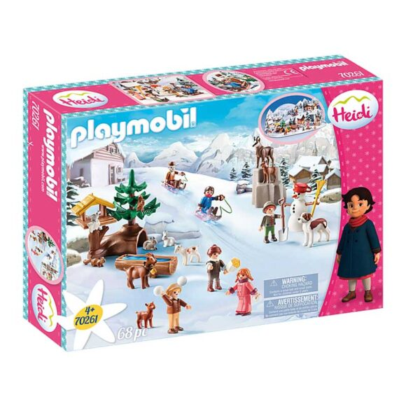 Playmobil Heidi's Winter World 70261