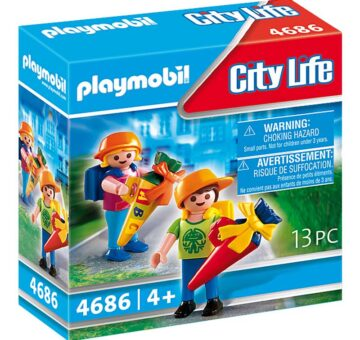 Playmobil Child's First Day St School 4686
