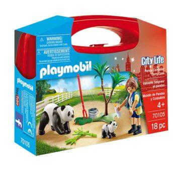 Playmobil Panda Caretaker Carry Case 70105