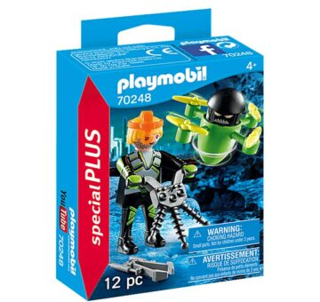 Playmobil Special Plus - Agent With Drone 70248