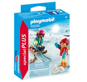 Playmobil Special Plus - Children With Sleigh 70250