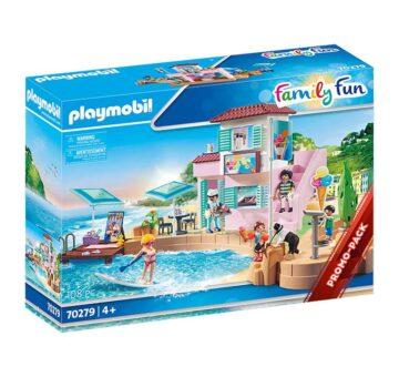 Playmobil Waterfront Ice Cream Shop 70279