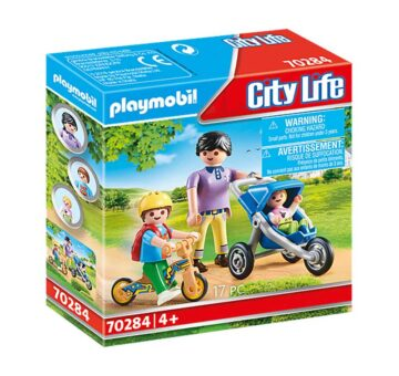 Playmobil Mother With Children 70284