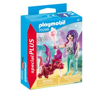 Playmobil Special Plus - Fairy With Baby Dragon 70299