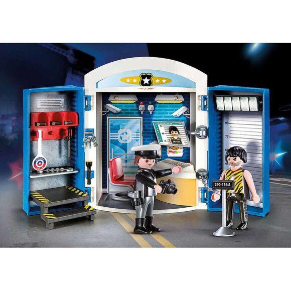 Playmobil Police Station Play Box 70306