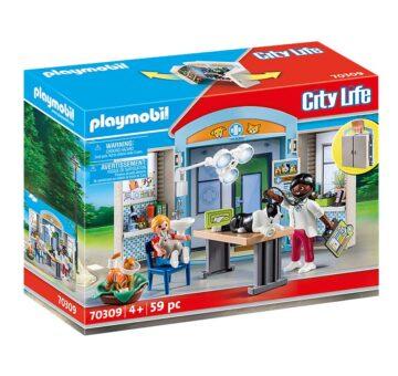 Playmobil Vet Clinic Play Box 70309