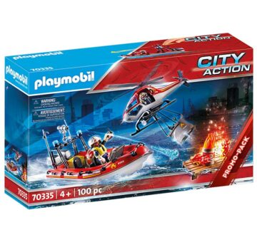 Playmobil Fire Rescue Mission 70335
