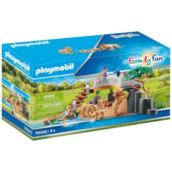 Playmobil Outdoor Lion Enclosure 70343