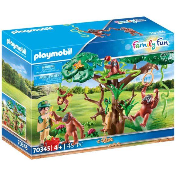 Playmobil Orangutans With Tree 70345