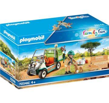 Playmobil Zoo Vet With Medical Cart 70346