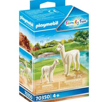 Playmobil Alpaca With Baby 70350