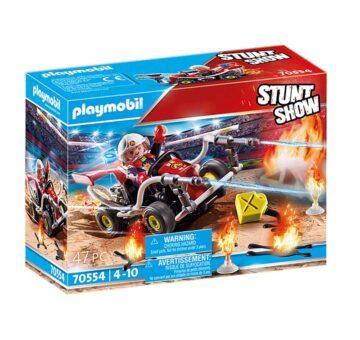 Playmobil Stunt Show Fire Quad 70554