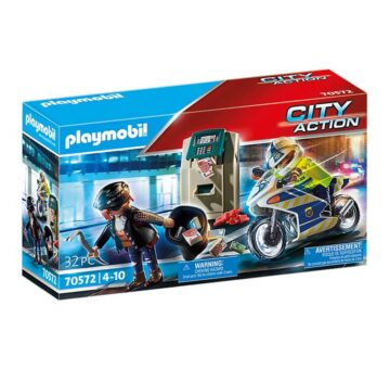 Playmobil Bank Robber Chase 70572