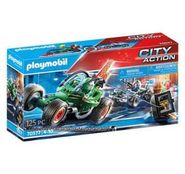 Playmobil Police Go-Kart Escape 70577
