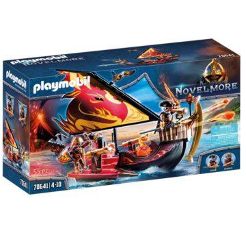 Playmobil Novelmore Burnham Raiders Fire Ship 70641