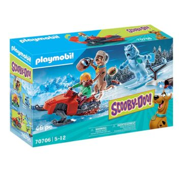 Playmobil SCOOBY-DOO! Adventure With Snow Ghost 70706