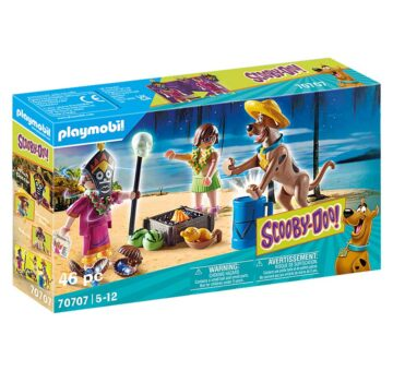 Playmobil SCOOBY-DOO! Adventure With Witch Doctor 70707