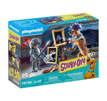 Playmobil SCOOBY-DOO! Adventure With Black Knight 70709