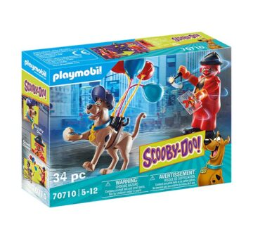 Playmobil SCOOBY-DOO! Adventure With Ghost Clown 70710
