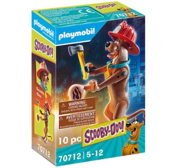Playmobil SCOOBY-DOO! Collectible Firefighter Figure 70712