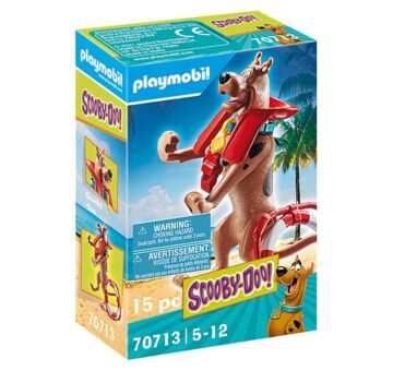 Playmobil SCOOBY-DOO! Collectible Lifeguard Figure 70713
