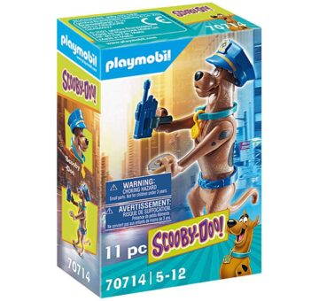 Playmobil SCOOBY-DOO! Collectible Police Figure 70714