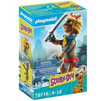 Playmobil SCOOBY-DOO! Collectible Samurai Figure 70716