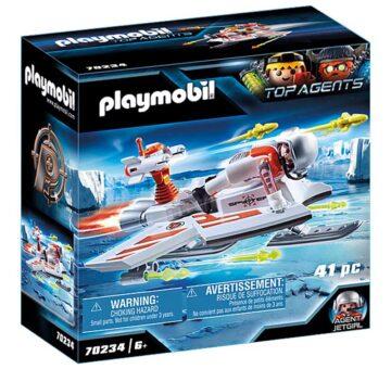 Playmobil Spy Team Flyer 70234
