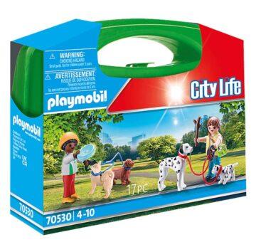 Playmobil Dog Walking Carry Case 70530