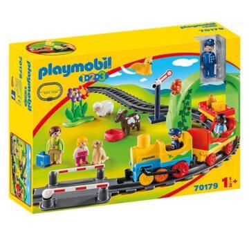 Playmobil 1.2.3 My First Train Set 70179