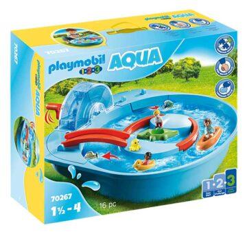 Playmobil 1.2.3 Splish Splash Water Park 70267