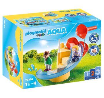 Playmobil 1.2.3 Water Slide 70270