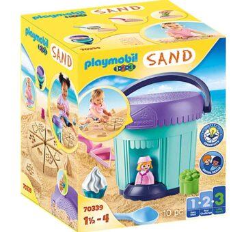 Playmobil 1.2.3 Bakery Sand Bucket 70339