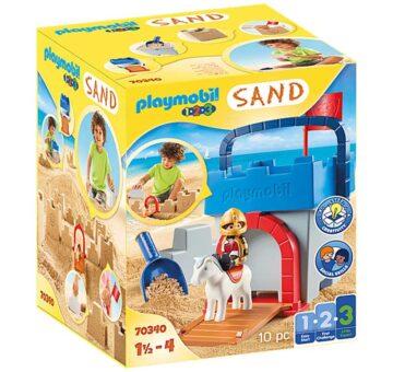 Playmobil 1.2.3 Knight's Castle Sand Bucket 70340