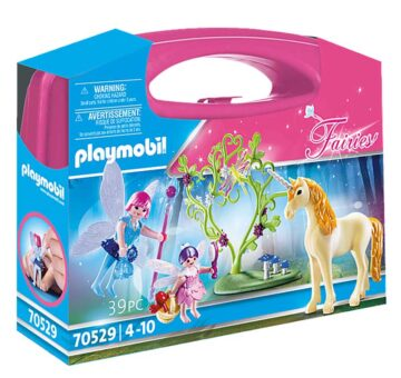 Playmobil Fairy With Unicorn Carry Case 70529