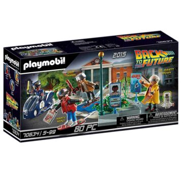 Playmobil Back to the Future Part II - Hoverboard Chase 70634