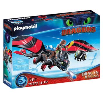 Playmobil Dragon Racing: Hiccup And Toothless 70727